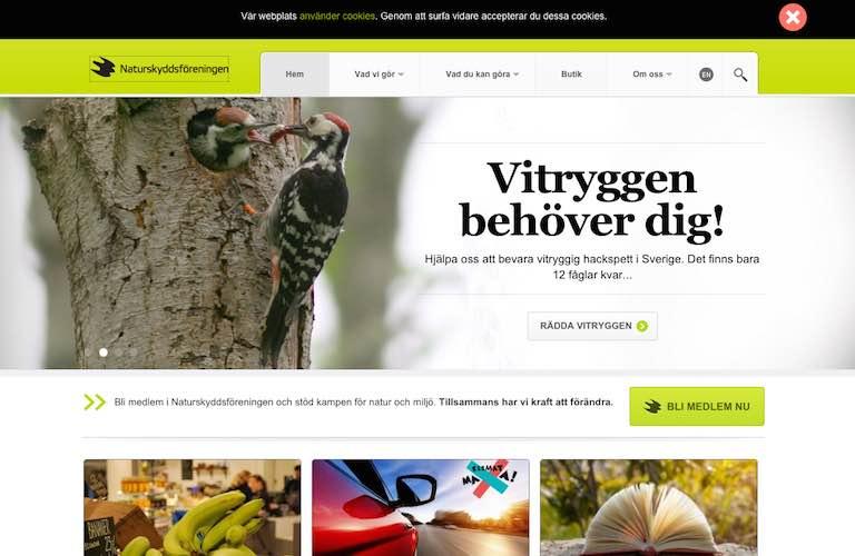 Naturskyddsforeningen web