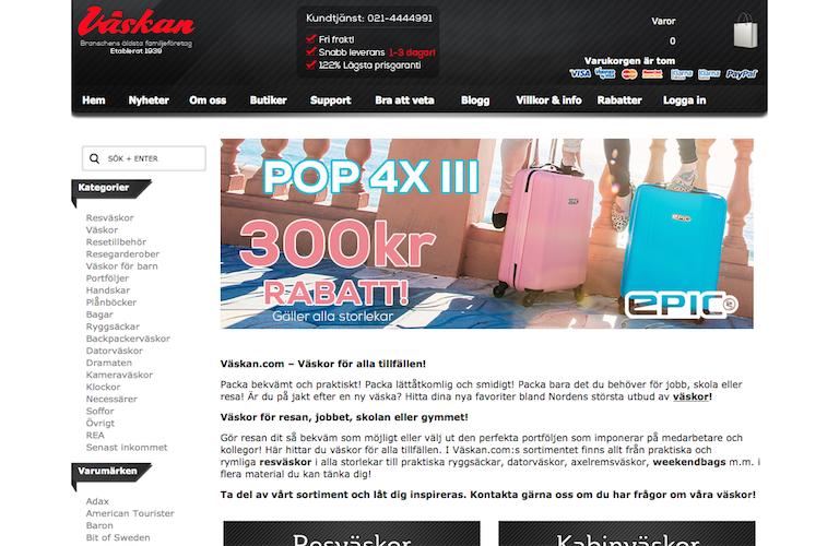 Vaskan.com web