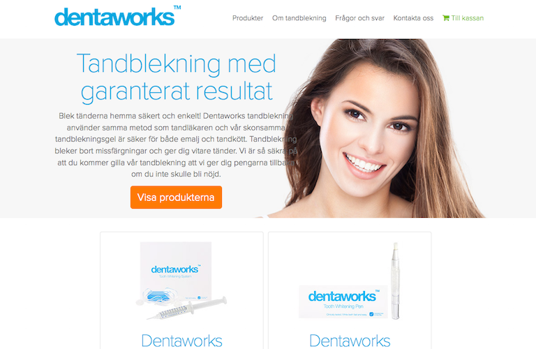 Dentaworks web