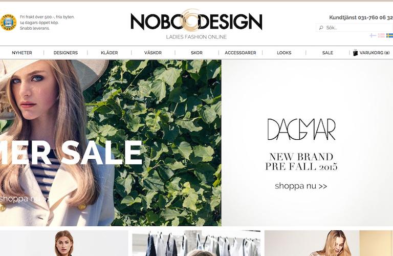 Nobo design web