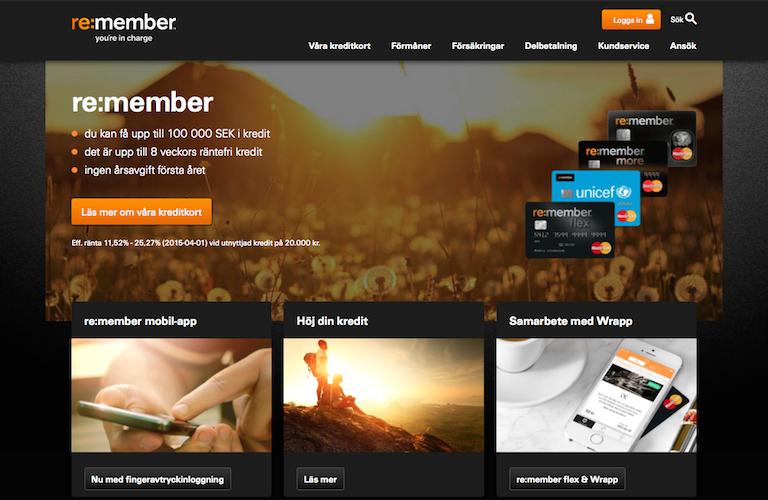 Re membercard web
