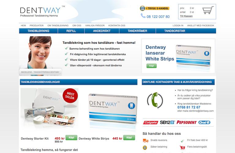 Dentway web