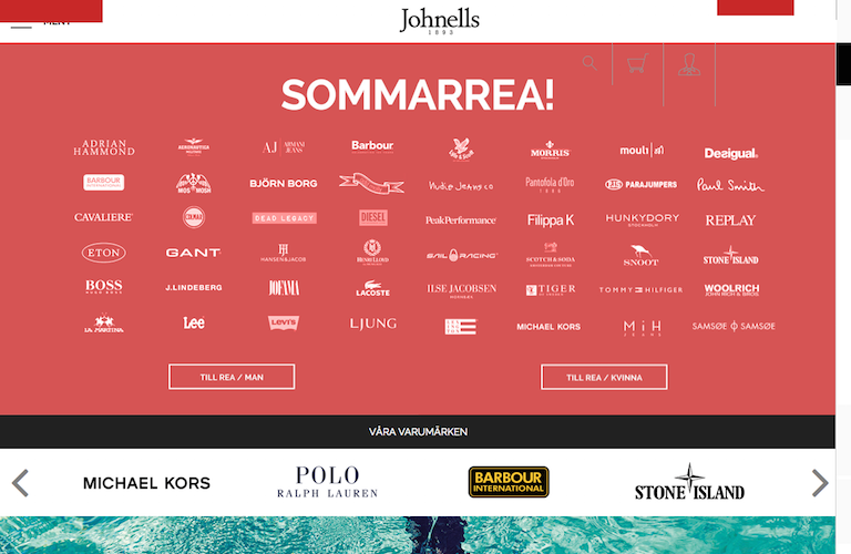 Johnells web
