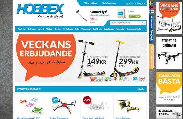 Hobbex web