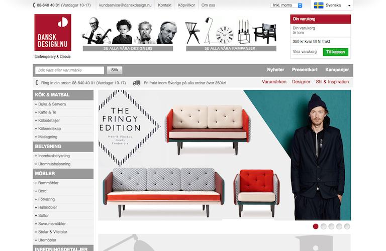 Danskdesign web