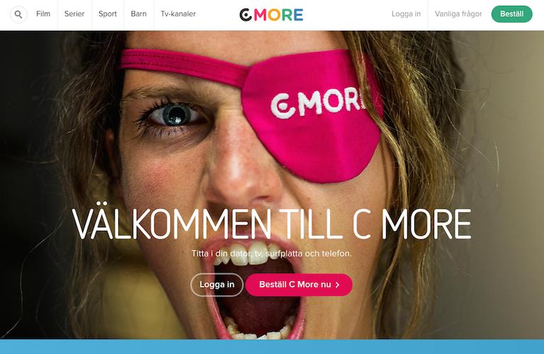 Cmore web