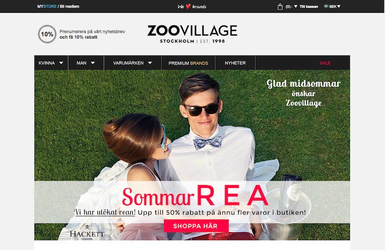Zoovillage web