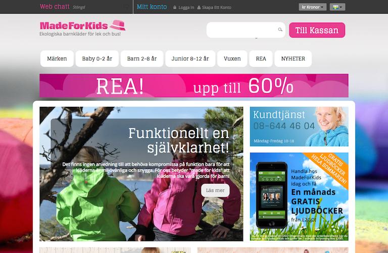 Madeforkids web