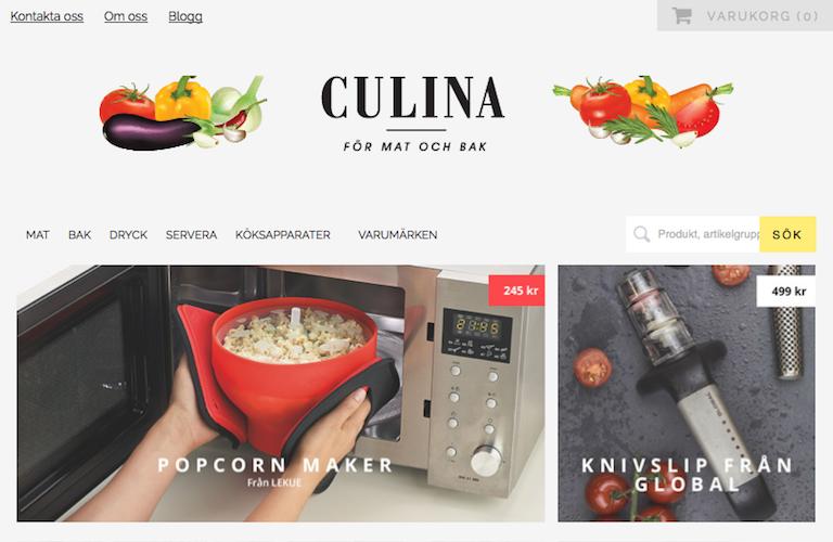 Culina web