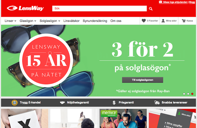 Lensway web