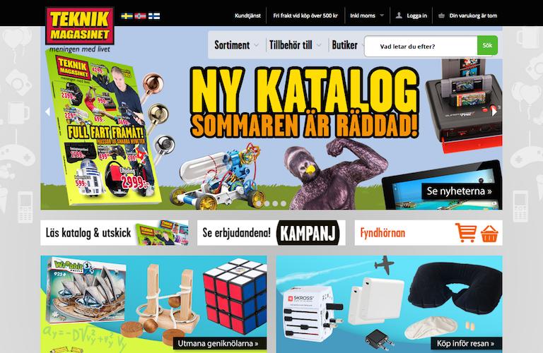 Teknikmagasinet web