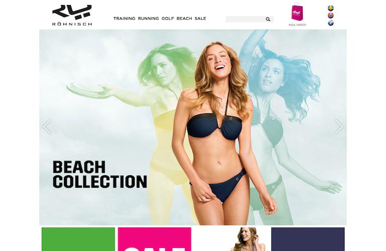 Rohnisch sportswear web