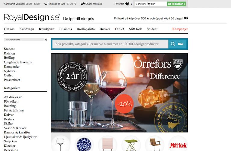 Royaldesign web