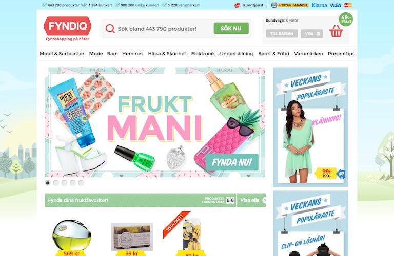 Fyndiq web