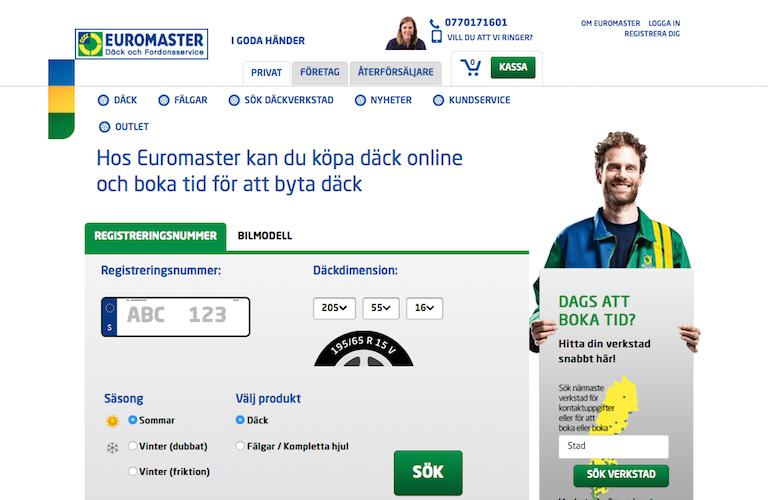 Euromaster web
