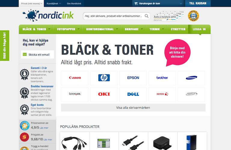 Nordicink web