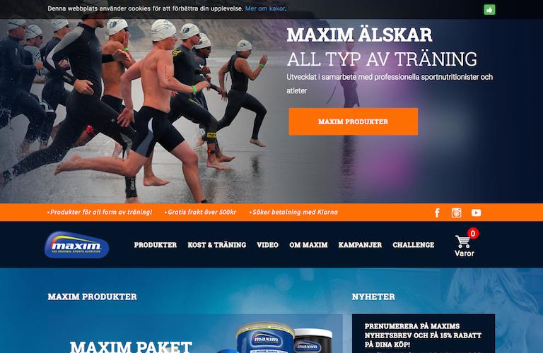 Maxim web