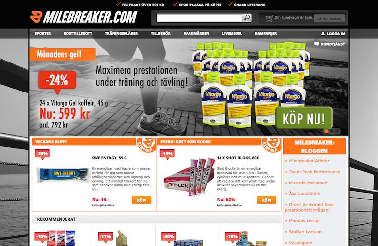 Milebreaker web