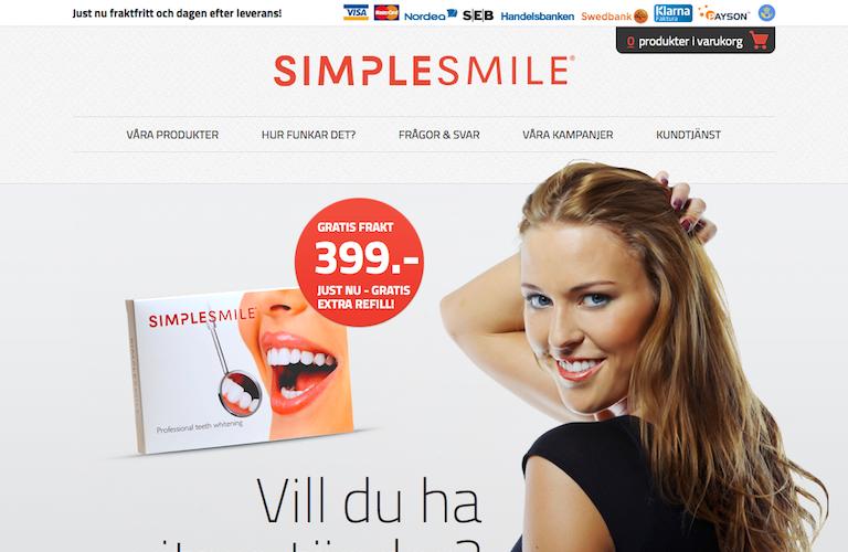 Simplesmile web