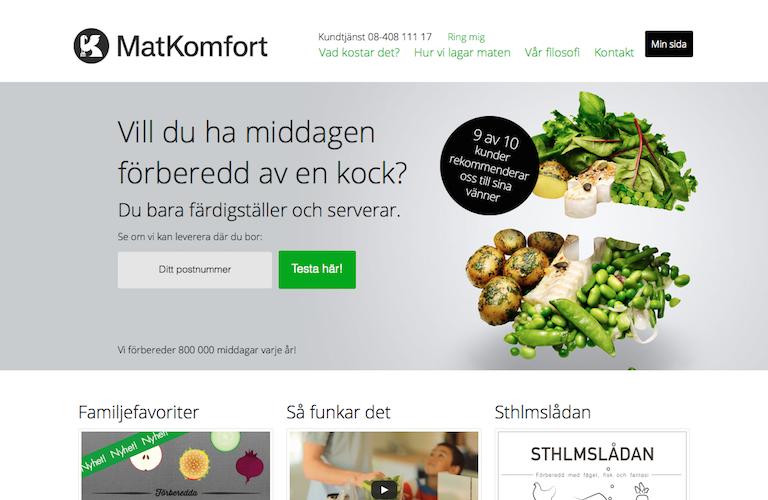 Matkomfort web
